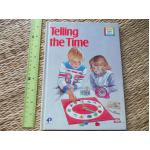 Telling the Time (My First Colour Library) Hardback 30 Pages ราคา 100