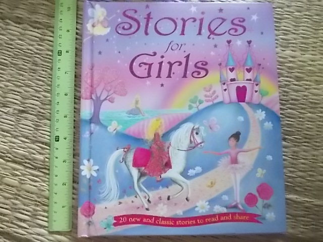 Stories For Girls Hardback (Glistered Cover) 160 Pages ราคา 250