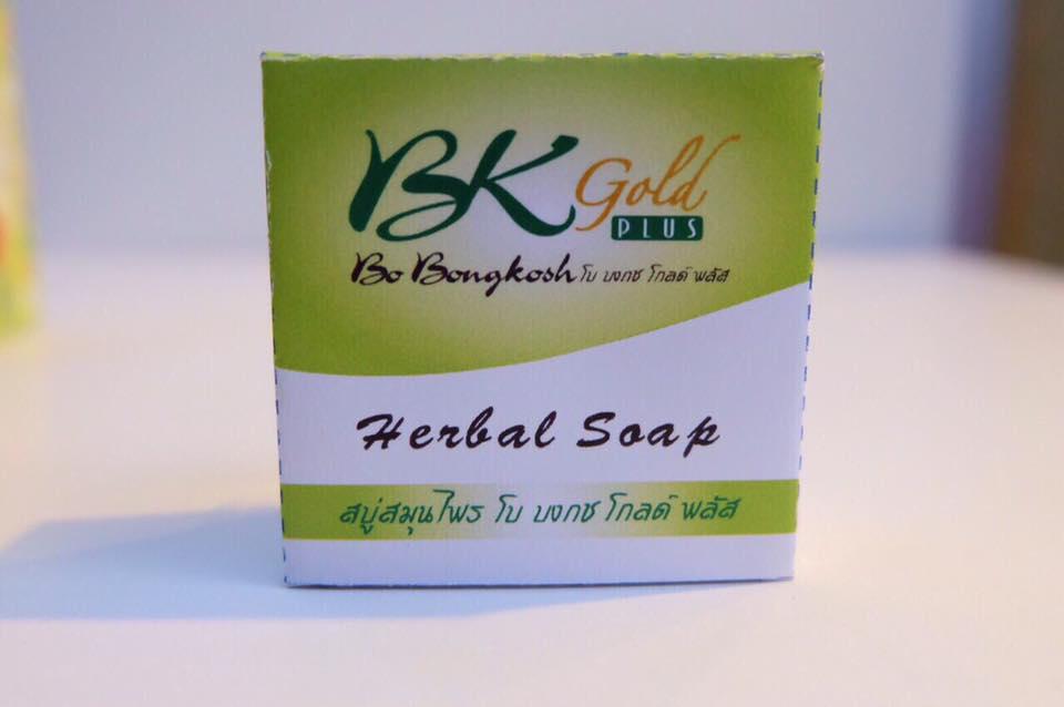 Bo Bongkosh Gold Plus โบ บงกช โกลด์ พลัส Herbal Soap