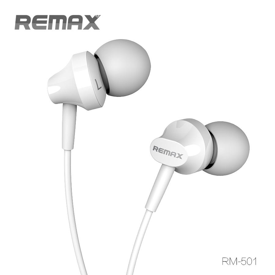 หูฟังสมอลทอล์ค REMAX แท้ 100% จุกซิลิโคน สีขาว