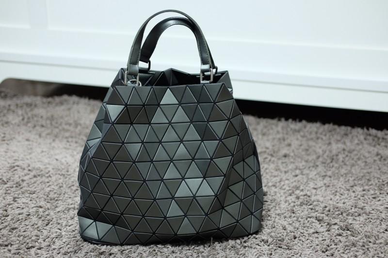 กระเป๋าสะพายแฟชั่น กระเป๋าสะพายข้างผู้หญิง Bao Bao Baral ทรงถัง [สีเทาเข้ม ]