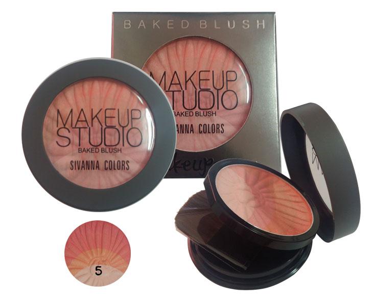 ปัดแก้ม Sivanna Colors Make up Studio Baked Blush No.5