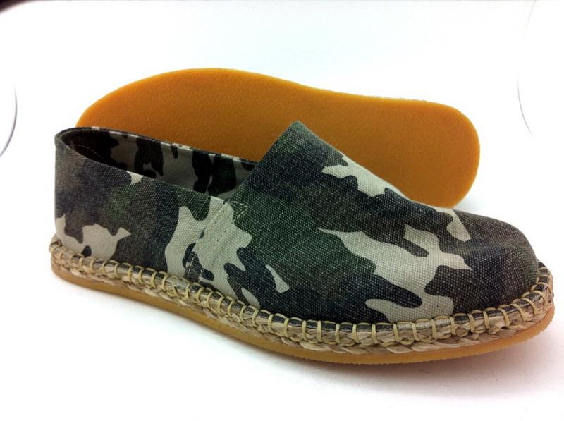 canvas shoe (rubber sole men)