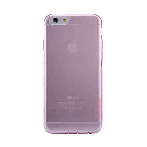 เคส iPhone6/6s สีชมพูใส nillkin แท้ TPU Case