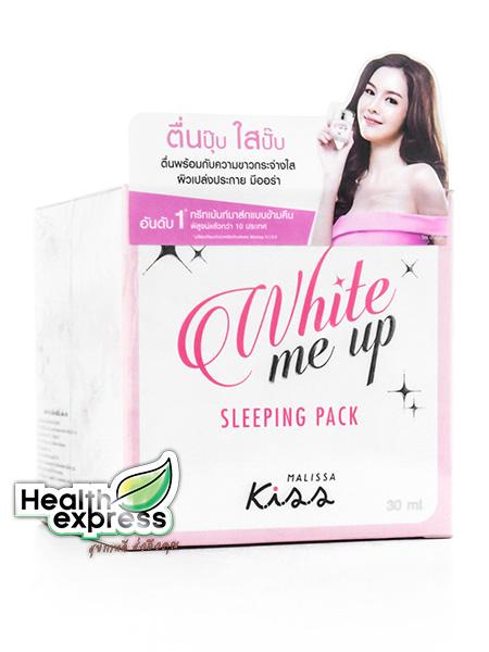 Kiss White Me Up Sleeping Pack ไวท์ มี อัพ สลีปปิ้ง แพ็ค ปริมาณสุทธิ 30 g.