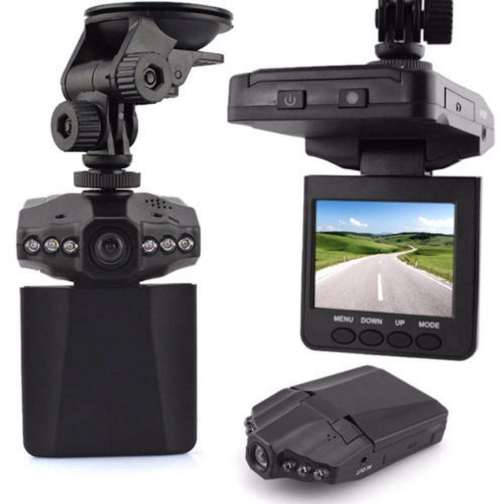 """กล้องติดรถ 2.5"""" 6 LED Night Vision HD DVR รุ่น DVRF198B (สีดำ)"""