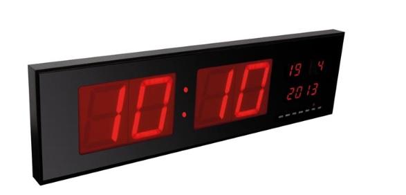 นาฬิกาดิจิตอลจอ LED ขนาดใหญ่ (ไฟสีแดง) รุ่น WC235RL