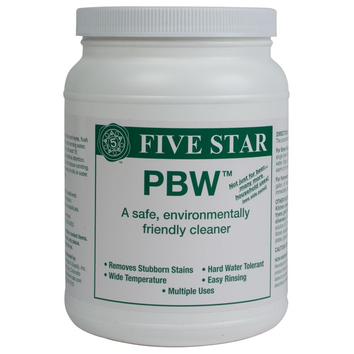 FIVE STAR - PBW, environmentally and user friendly cleaner 4oz