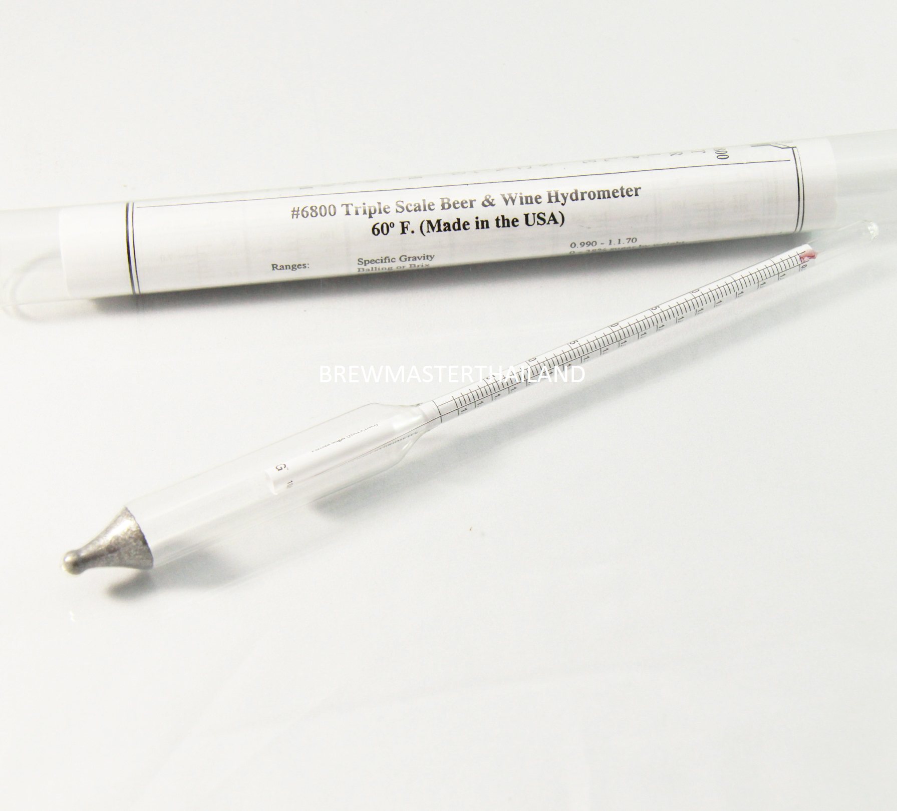 Triple Scale Hydrometer (Made in USA)