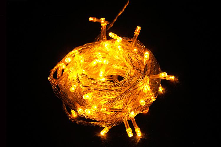 ไฟหยดน้ำ ไฟกระพริบ/ไฟไม่กระพริบ Led (สีเหลือง)