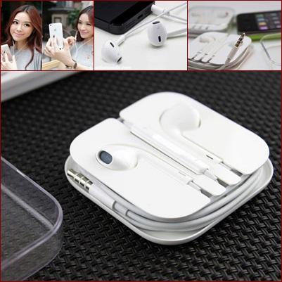 หูฟังสมอลทอล์ครองรับ iPad/iPhone/iPod สีขาว พร้อมที่เก็บ
