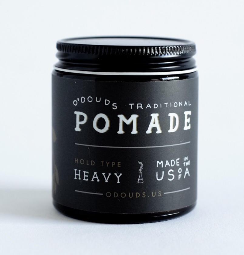 O'Douds All Natural Heavy hold Oil-based Pomade (4 oz)