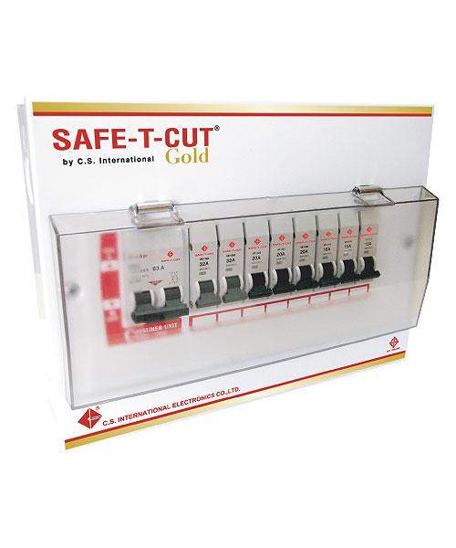ตู้ไฟ Safe-t-cut 8ช่อง