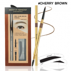 Browit By Nongchat Pro Slim Brow Pencil CHERRY BROWN