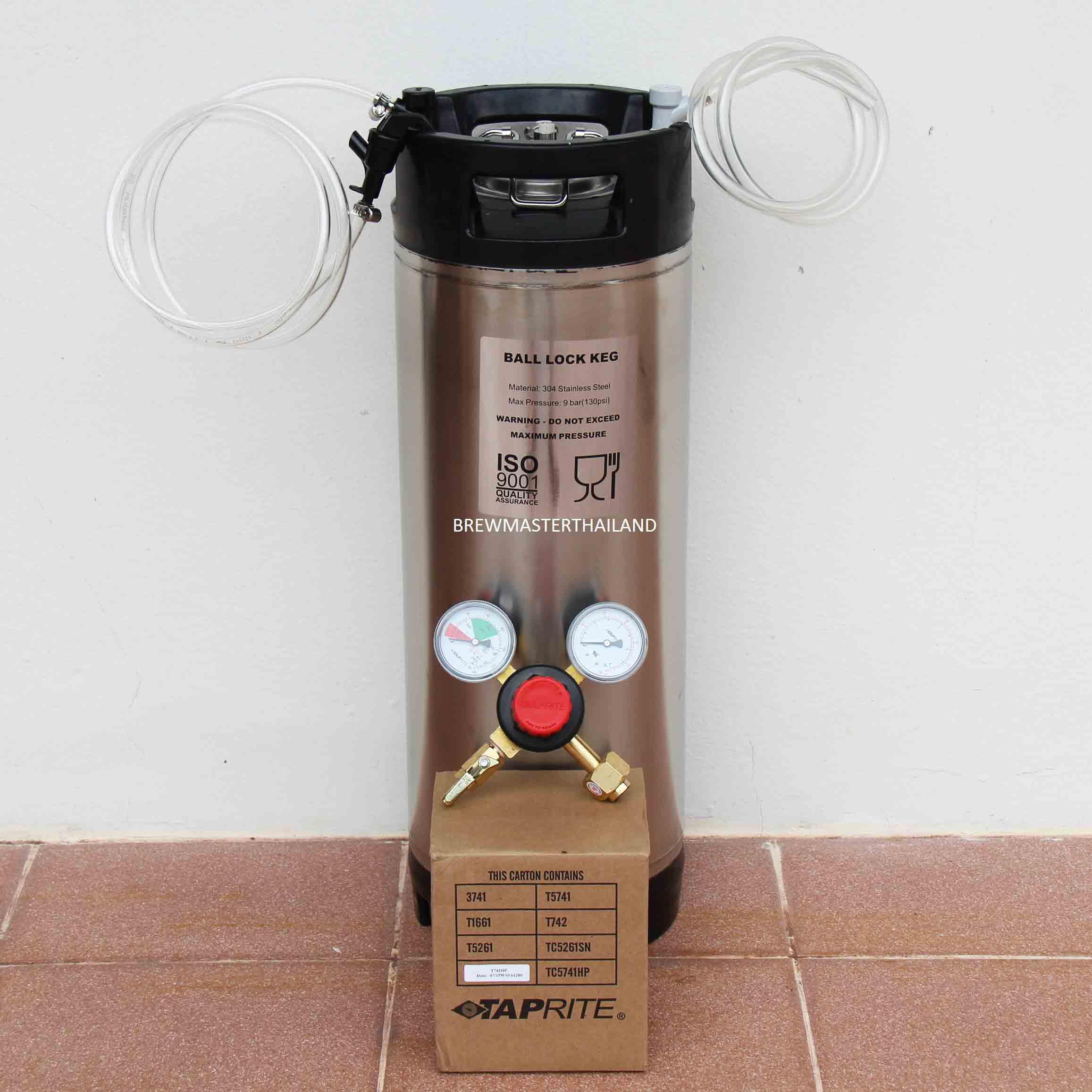 5 Gallon Keg system