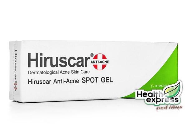 Hiruscar Anti Acne Spot Gel ฮีรูสการ์ แอนตี้ แอคเน่ สปอต เจล ปริมาณสุทธิ 10 g.