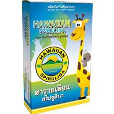 ฮาวายเอียน สไปรูลิน่าฮา 30 แคปซูล อาหารเสริมสำหรับลูกรัก 1 กล่อง