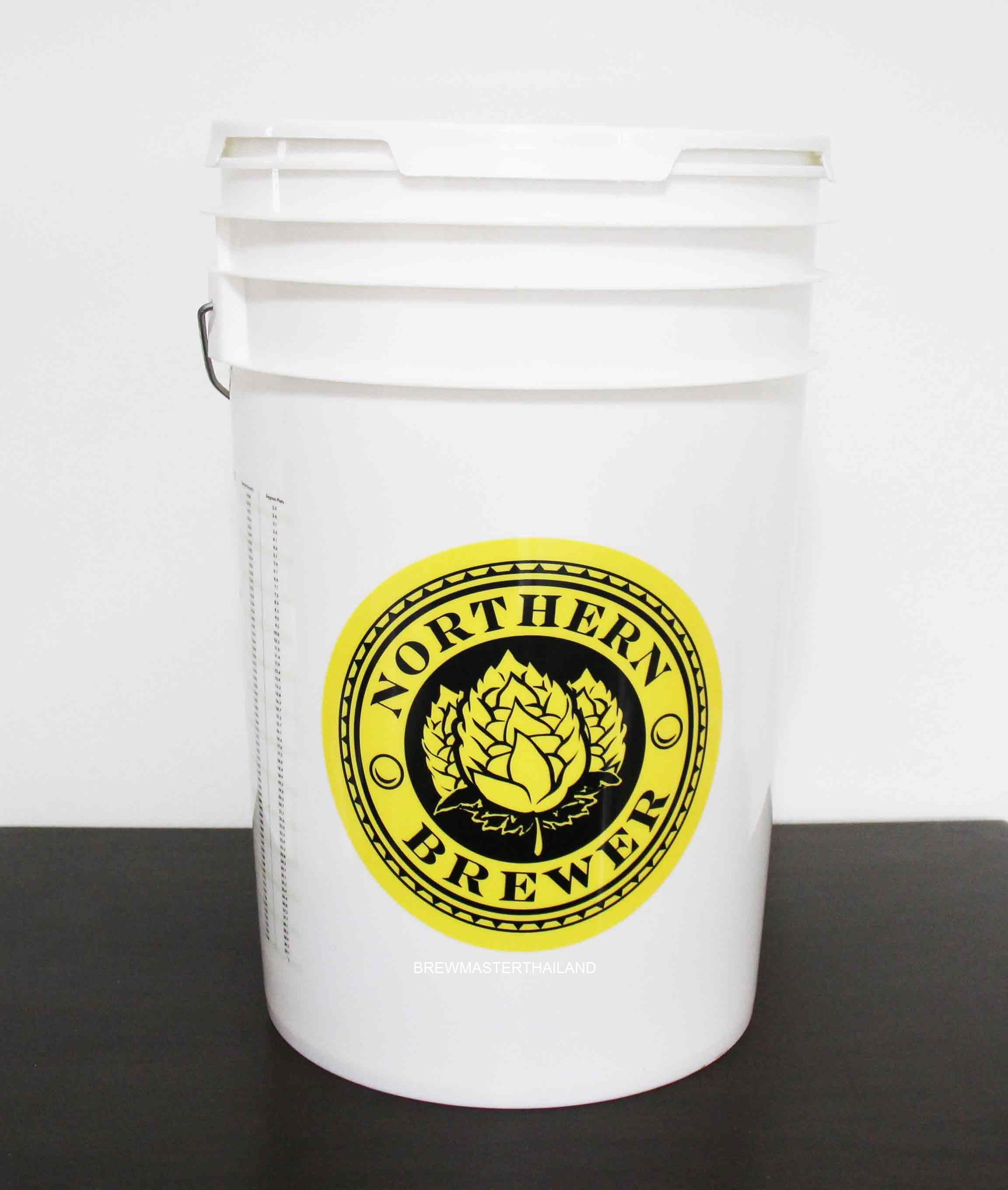 HDPE Fermenting Bucket - 6.5 Gallon (USA) N Design