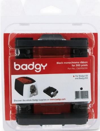 ตลับหมึกและบัตร PVC 0.76 เครื่องพิมพ์บัตร Evolis รุ่น Badgy 100 และ Badgy 200
