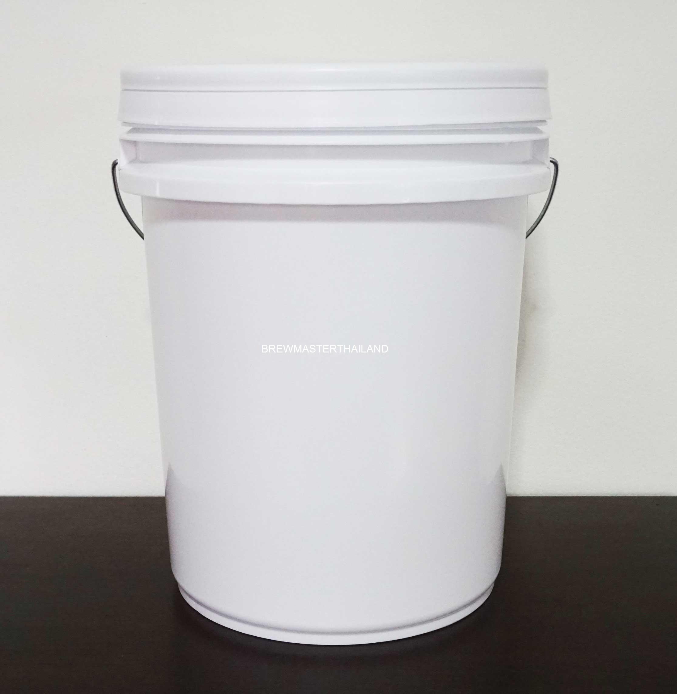 Fermenting bucket (Food Grade) + Rubber Grommet 20L