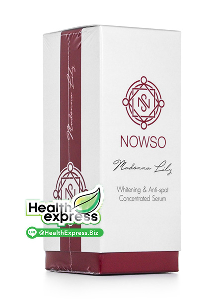 NowSo Madonna Lily Whitening & Anti Spot Concentrated Serum ปริมาณสุทธิ 20 ml.