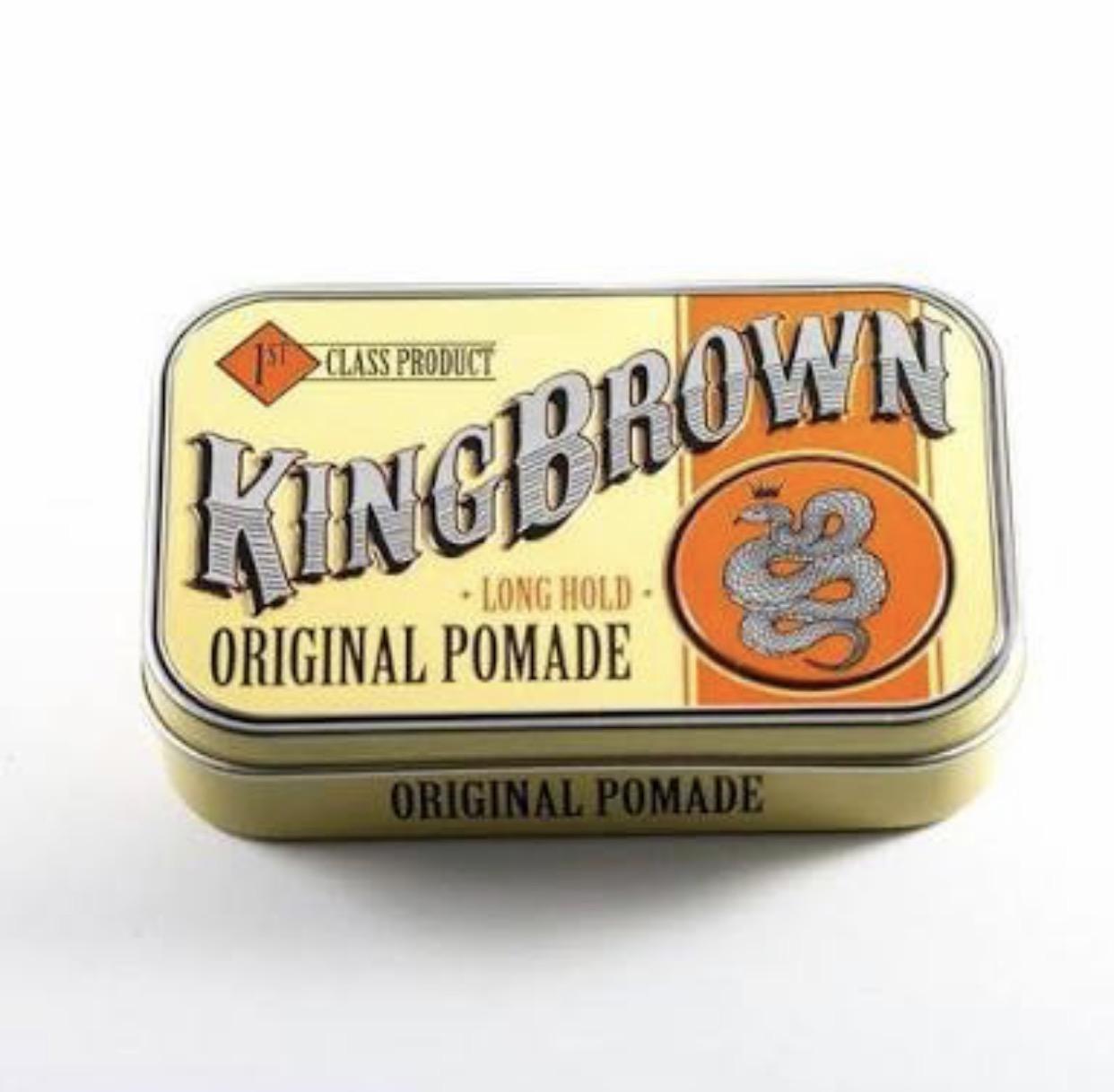 King brown Original Pomade (Oil based)
