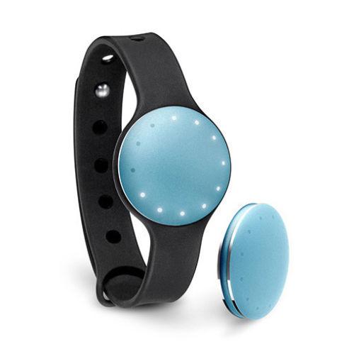 นาฬิกา Misfit Fitness แท้ พร้อมจอ Sleep Monitor รัดข้อมือเพื่อสุขภาพ Android/iOS (สีฟ้า)