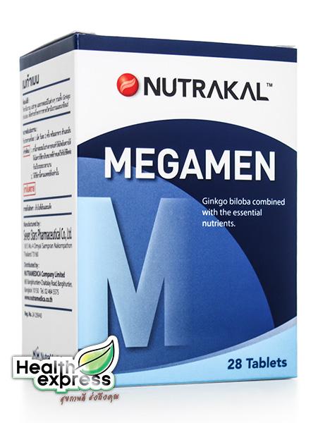 Nutrakal Megamen 28 Caps นูทราแคล เมกกะเมน Multi-Vitamins And Minerals for Men