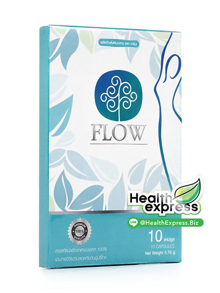 Flow โฟลว์ บรรจุ 10 แคปซูล