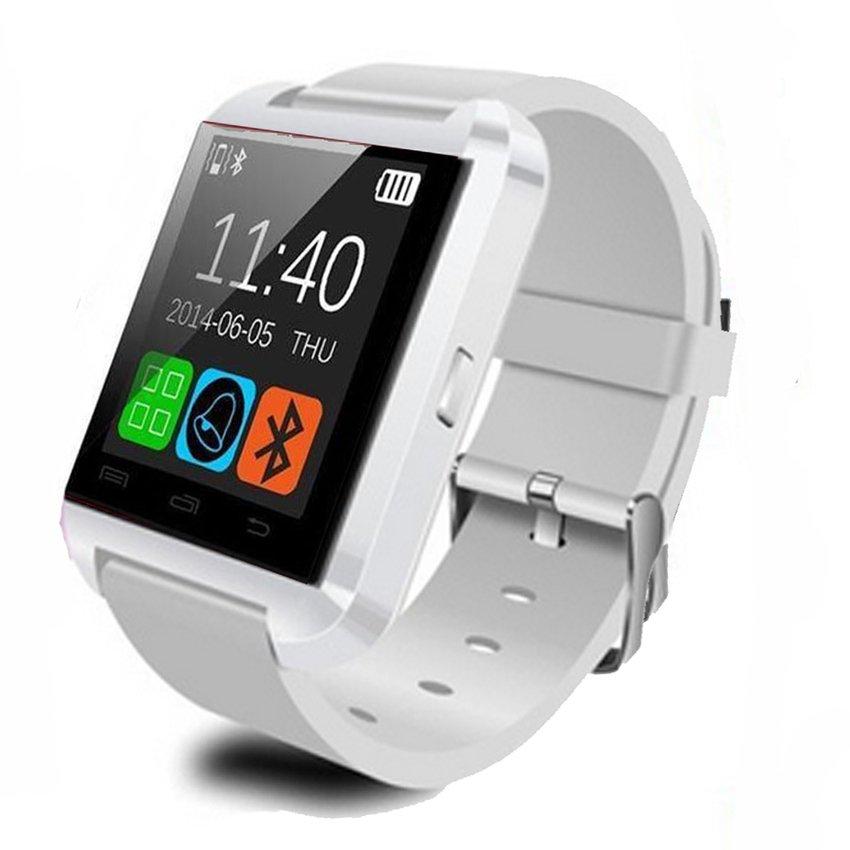 นาฬิกา SmartWatch U8 แท้ สีขาว พร้อม Bluetooth