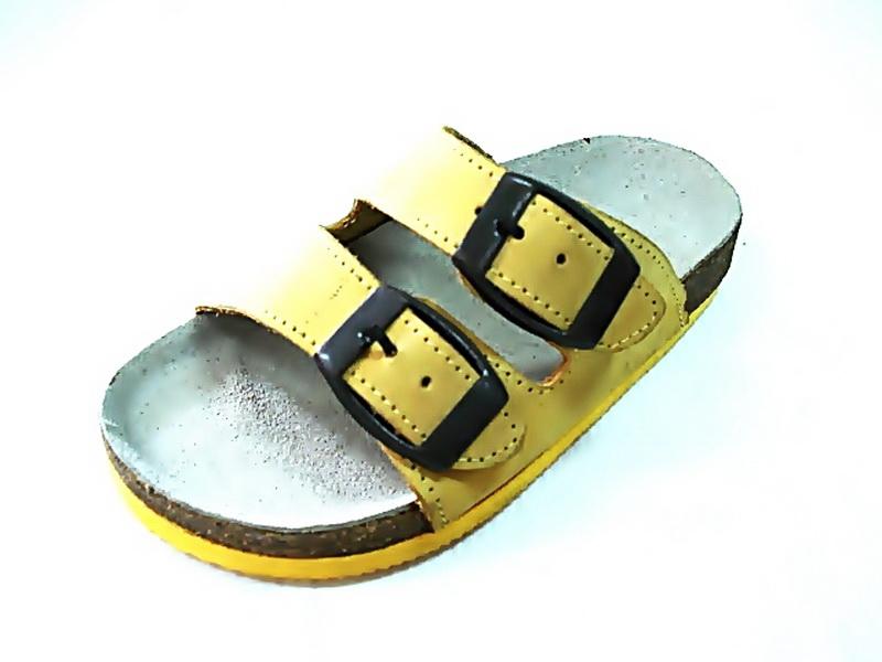 Cork sole leather sandal (kids)