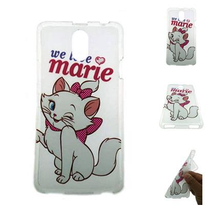 เคสฝาหลัง LENOVO Vibe P1m ซิลิโคนใสแท้ ลายแมว marie