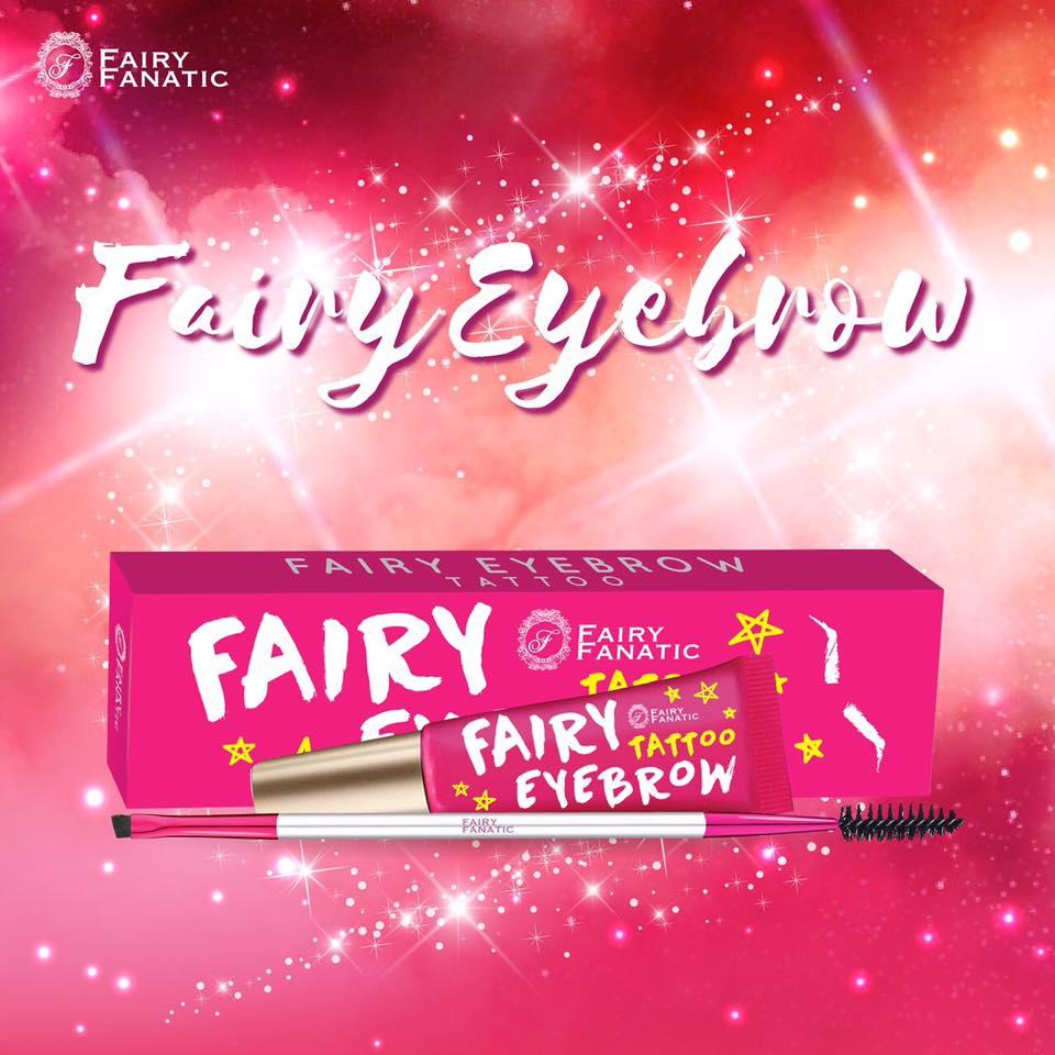 เจลเขียนคิ้วแฟรี่ Dark brown By Fairy Fanatic No.03