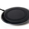ที่ชาร์จไวเลส ไร้สาย พร้อมแผ่นชาร์จ Wireless Charger แท้ ใช้ได้กับ iPhone5/5s/6/6s (สีดำ)