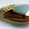 Cork sole sandal for lady