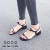 พร้อมส่ง รองเท้าแตะผู้หญิง G-1104-BLK [สีดำ]