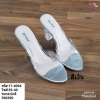พร้อมส่ง รองเท้าส้นสูง ส้นแก้ว 17-4094-SIL [สีเงิน]