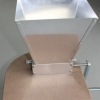 Standard Grain Mill - 2 Rollers with base (Aluminium Body, Stainless Steel Rollers)
