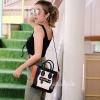 กระเป๋าสะพายแฟชั่น กระเป๋าสะพายข้างผู้หญิง Top bag [สีดำ]