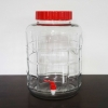 Siphonless Glass Bubbler - 5 Gallon with Faucet & Strap