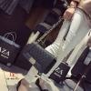 กระเป๋าสะพายแฟชั่น กระเป๋าสะพายข้างผู้หญิง style CHANEL BOY [สีดำ ]