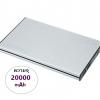 แบตสำรอง Powerbank eloop E14 แท้ 20000mAh (สีเงิน)