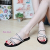 พร้อมส่ง รองเท้าแตะผู้หญิง M1860-BLK [สีดำ]