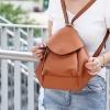 กระเป๋าเป้ผู้หญิง กระเปาสะพายข้างผู้หญิง สะพายได้สองแบบ สุดชิค [สีน้ำตาล ]