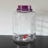 Siphonless Glass Bubbler - 5 Gallon sealed lid