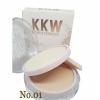 kylie kkw powder แป้งพัพไคลลี่ 2 ชั้น ผสมรองพื้น (No.01) ผิวขาว