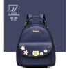 กระเป๋าสะพายเป้กระเป๋าถือ เป้แฟชั่นนำเข้าดีไซน์สุดน่ารัก B3128-BLU (สีน้ำเงิน)