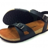 Cork sole leather sandal ( lady) สำเนา