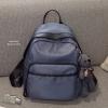 กระเป๋าเป้ผู้หญิง กระเป๋าสะพายข้างแฟชั่น Moschino แถมพวงกุญแจหมี [สีเทา ]