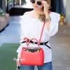 กระเป๋าถือ กระเป๋าสะพายข้างแฟชั่น Fendi monster [สีแดง ]